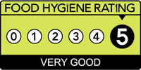 5 Star Food Hygiene Rated